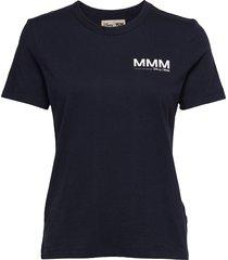 aria t-shirt t-shirts & tops short-sleeved blå wood wood