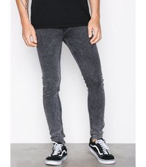 cheap monday him spray black grime jeans black