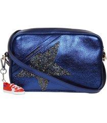 golden goose star bag shoulder bag in laminated leather