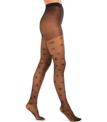 inc sheer star tights, created for macy's