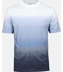 t-shirt med batikmönster - mörkblå