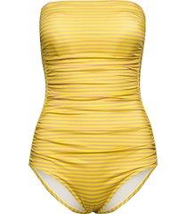 acapulco baddräkt badkläder gul scampi