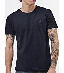 camiseta lee malha penteada 5101l manga curta masculina - masculino