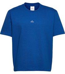 hanger tee t-shirts short-sleeved blå hanger by holzweiler