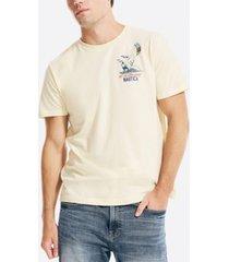 nautica men's kitesurfing logo graphic t-shirt