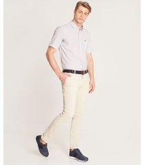 pantalón contraste bolsillo