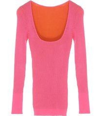 jacquemus rosa sweater