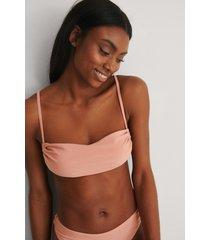 marije zuurveld x na-kd recycled rynkad bikinitopp - pink