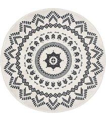 dywan bawełniany okrągły noto 120 cm