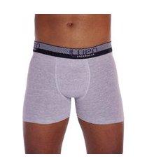 cueca boxer de algodão com elastano formato anatômico lupo .