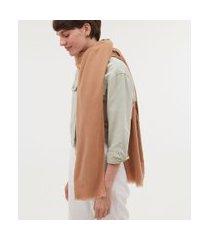 cachecol básico lisa | accessories | bege | u