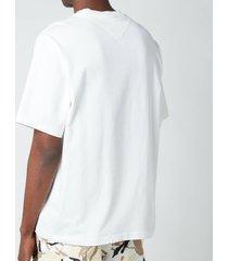 kenzo men's k-logo t-shirt - white - xl