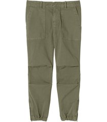 cropped french military pants