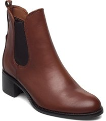 dittany shoes boots ankle boots ankle boot - heel brun dasia