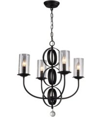 """home accessories estes 19"""" 4-light indoor pendant with light kit"""