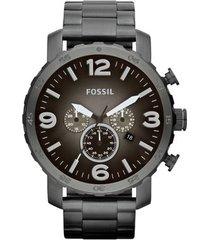 relógio fossil nate analógico