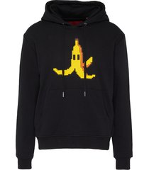 'nintendo' banana peel hoodie