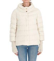 herno eolo padded cape jacket