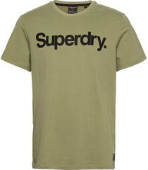 military graphic tee 185 t-shirts short-sleeved grön superdry