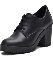 bota coturno clube do sapato de franca montividéu preto