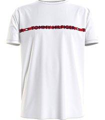 tommy hilfiger t-shirt logo - wit