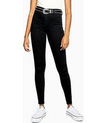 tall black belt loop joni skinny stretch jeans - black