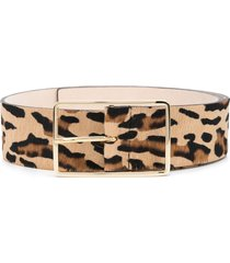 b-low the belt wide leopard print belt - neutrals