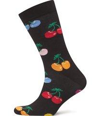 cherry sock underwear socks regular socks svart happy socks