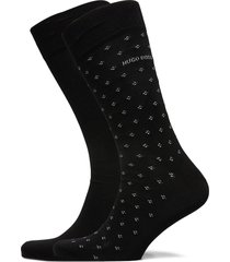 2p rs minipattern mc underwear socks regular socks svart boss