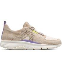 camper drift, sneaker donna, beige/viola, misura 41 (eu), k201043-001