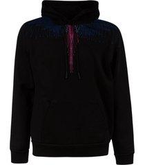 marcelo burlon regular bezier wings hoodie