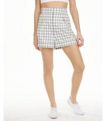 danielle bernstein plaid shorts, created for macy's