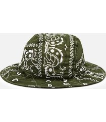 arizona love women's bandana bob bucket hat - mix khaki