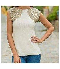 cotton tunic, 'classic new' (peru)