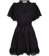 jurk met strik aneya  zwart