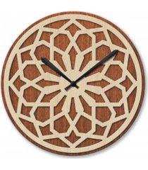 zegar ścienny drewniany designerski duży