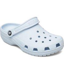 classic shoes summer shoes pool sliders blå crocs