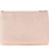 ted baker women's brree double pouch and coin purse gift set - light pink