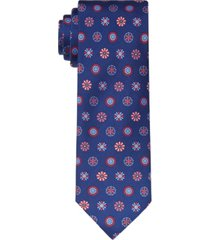 tommy hilfiger men's americana slim medallion tie