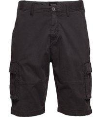 relaxed cargo shorts shorts cargo shorts svart lyle & scott