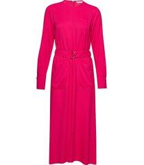 kallas solid dress maxi dress galajurk roze marimekko