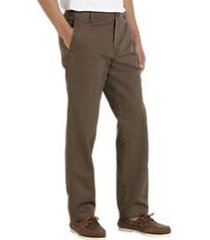 joseph abboud taupe modern fit essential chino