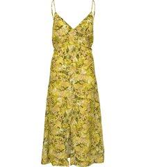 abiella knälång klänning gul baum und pferdgarten