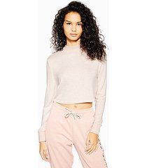 super soft lounge sweatshirt - blush