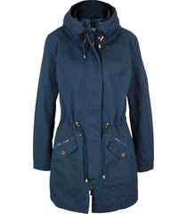 parka corto in cotone (blu) - bpc bonprix collection