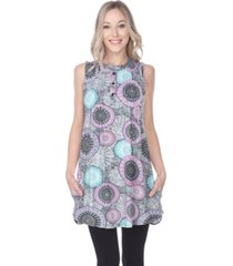 white mark women's fayre tunic