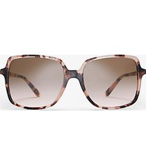 mk occhiali da sole isle of palms - rose gold/pink tortoise - michael kors