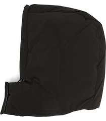 kassl editions padded hood hat - black