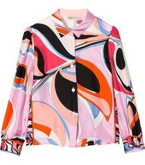 emilio pucci multicolor shirt