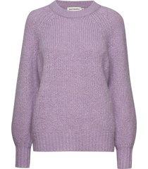 kinos knitted pullover stickad tröja lila marimekko